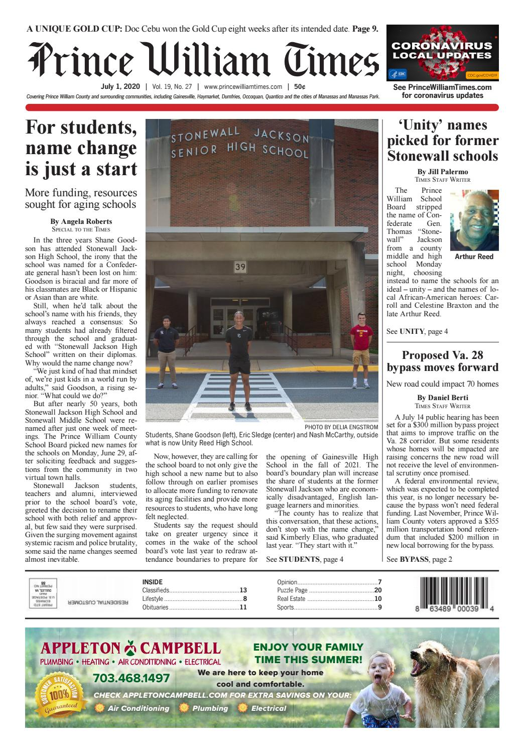 Prince William Times 07 01 2020 By Fauquier Times Issuu
