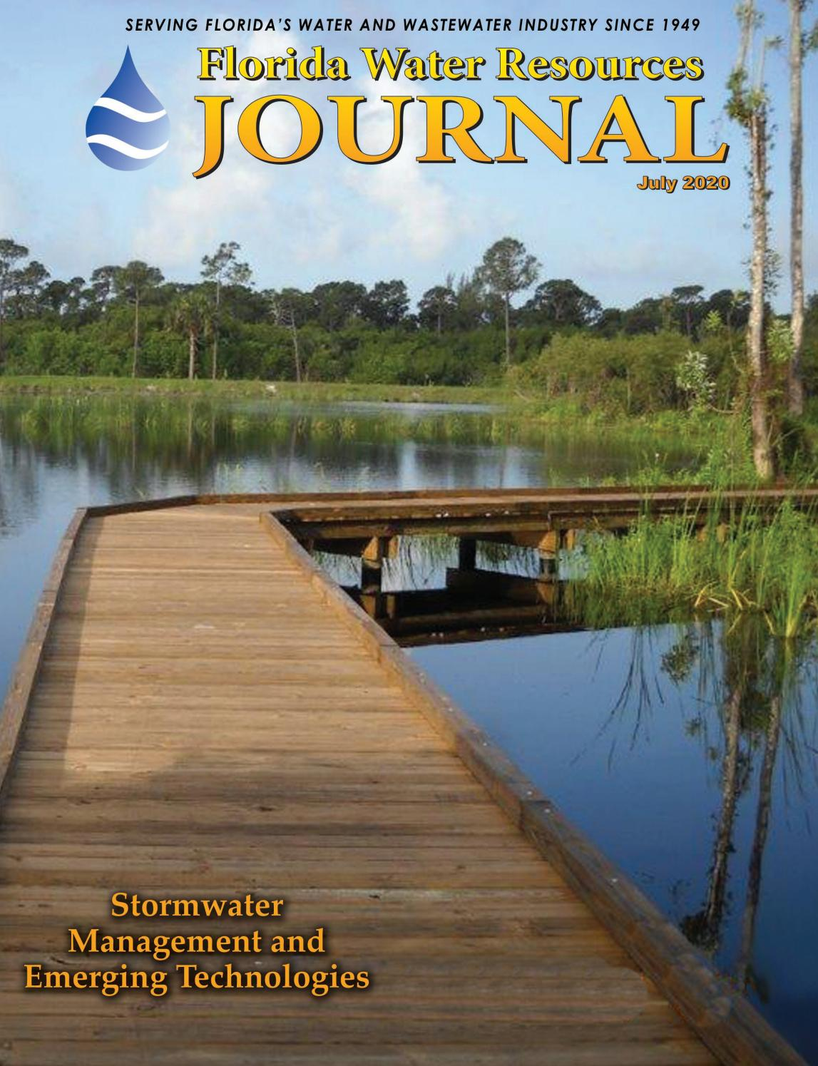 Florida Water Resources Journal - July 2020 by Florida Water Resources  Journal - issuu
