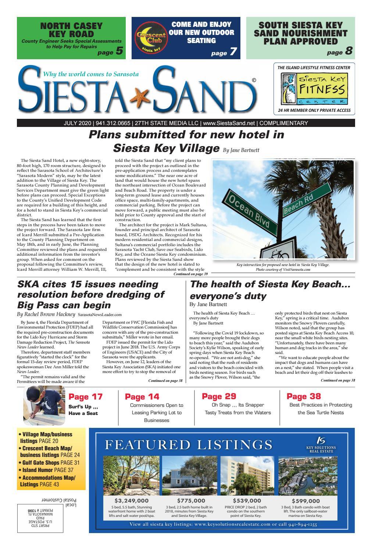 Siesta Sand July 2020 By Emy Stein Issuu