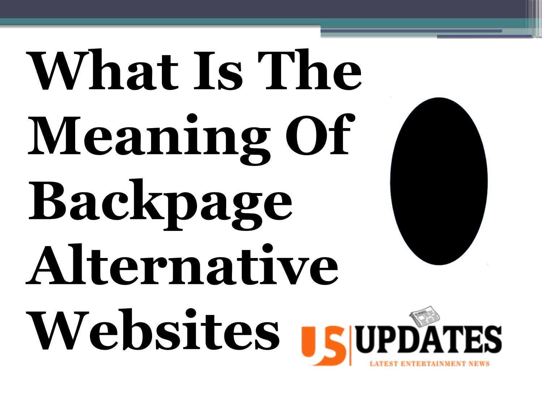 Down backpage website alternative shut documents.openideo.com