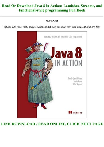 java 8 in action pdf free download