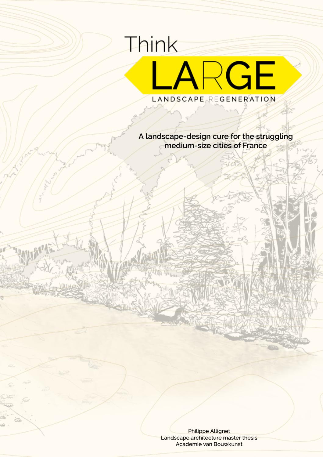 Think Large Philippe Allignet By Amsterdam Academy Of Architecture Issuu