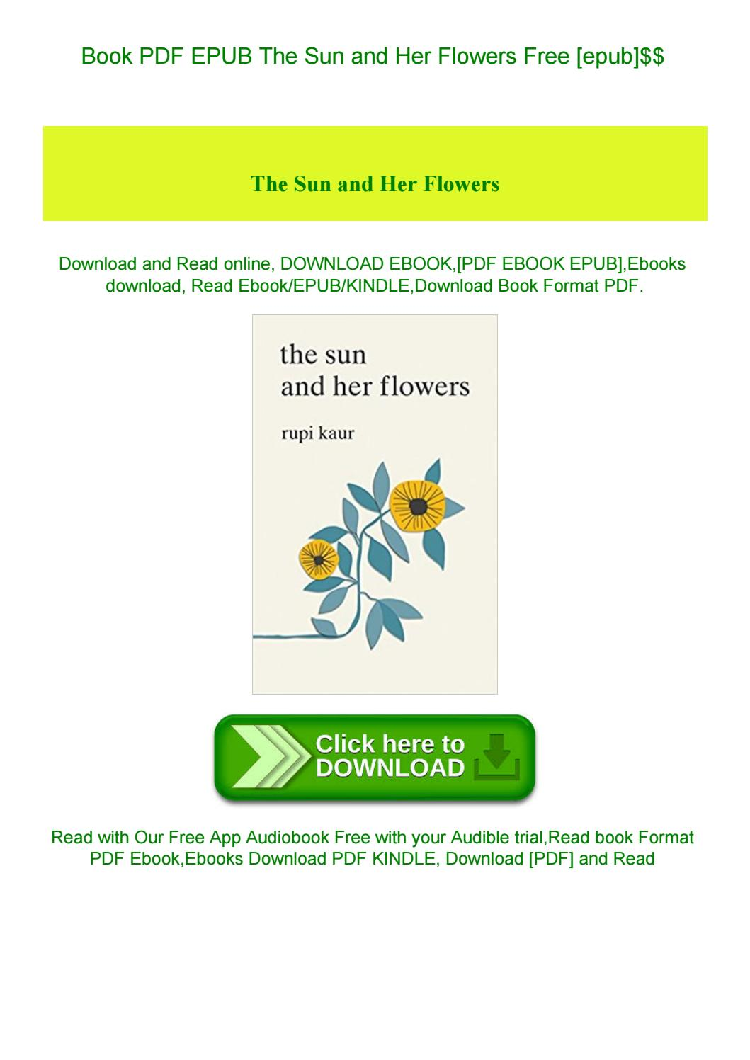 the sun and her flowers epub free