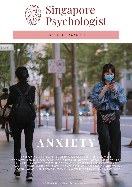 Singapore Psychologist Issue 3 By Singapore Psychologist Issuu