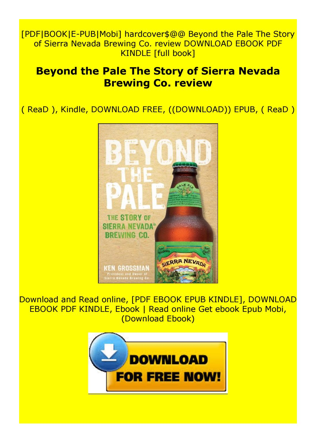 Beyond The Pale The Story Of Sierra Nevada Brewing Co Review By Nydxgjggderx Issuu
