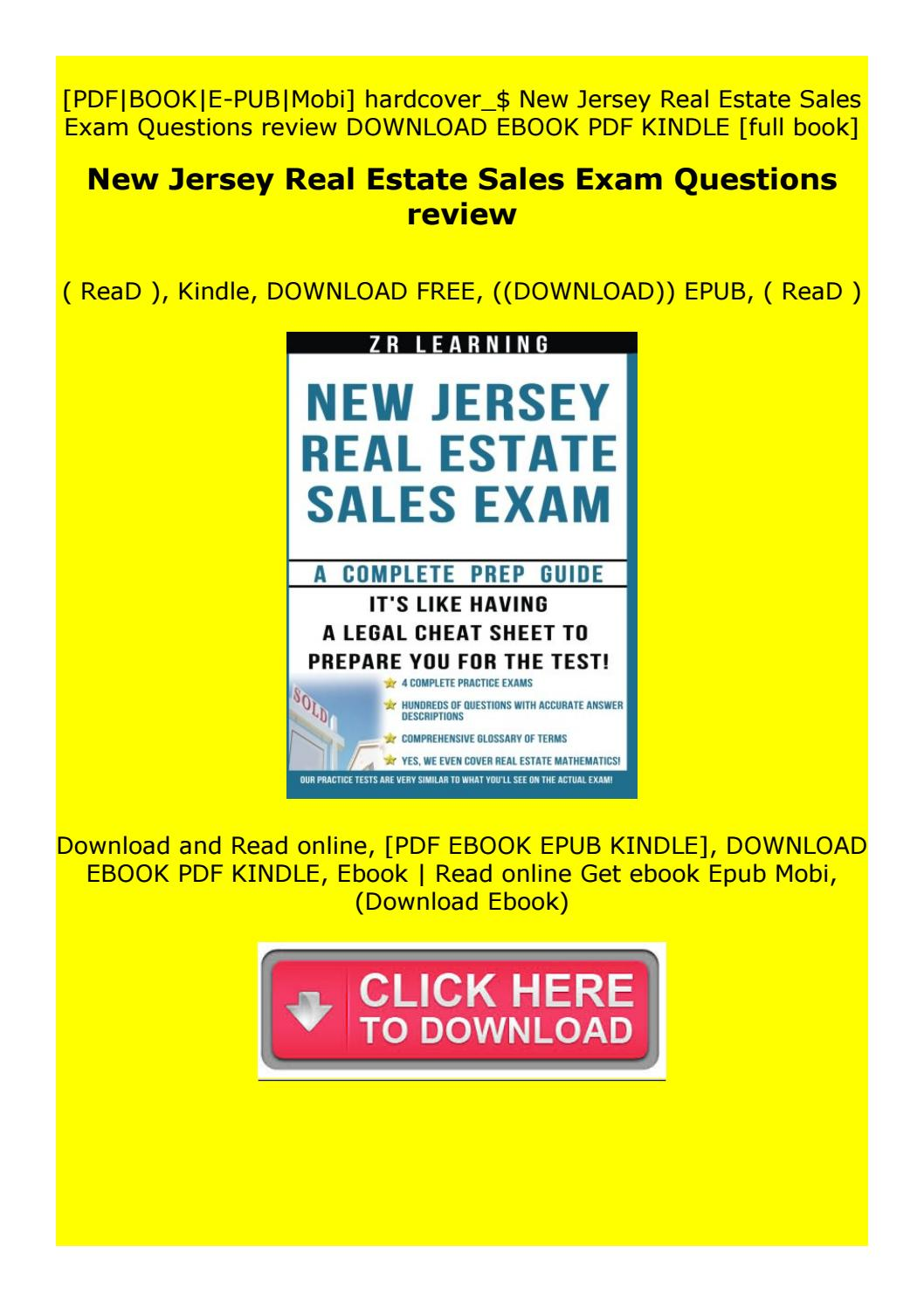 New Jersey Real Estate Sales Exam Questions Review By Fdedfvrfgh Issuu