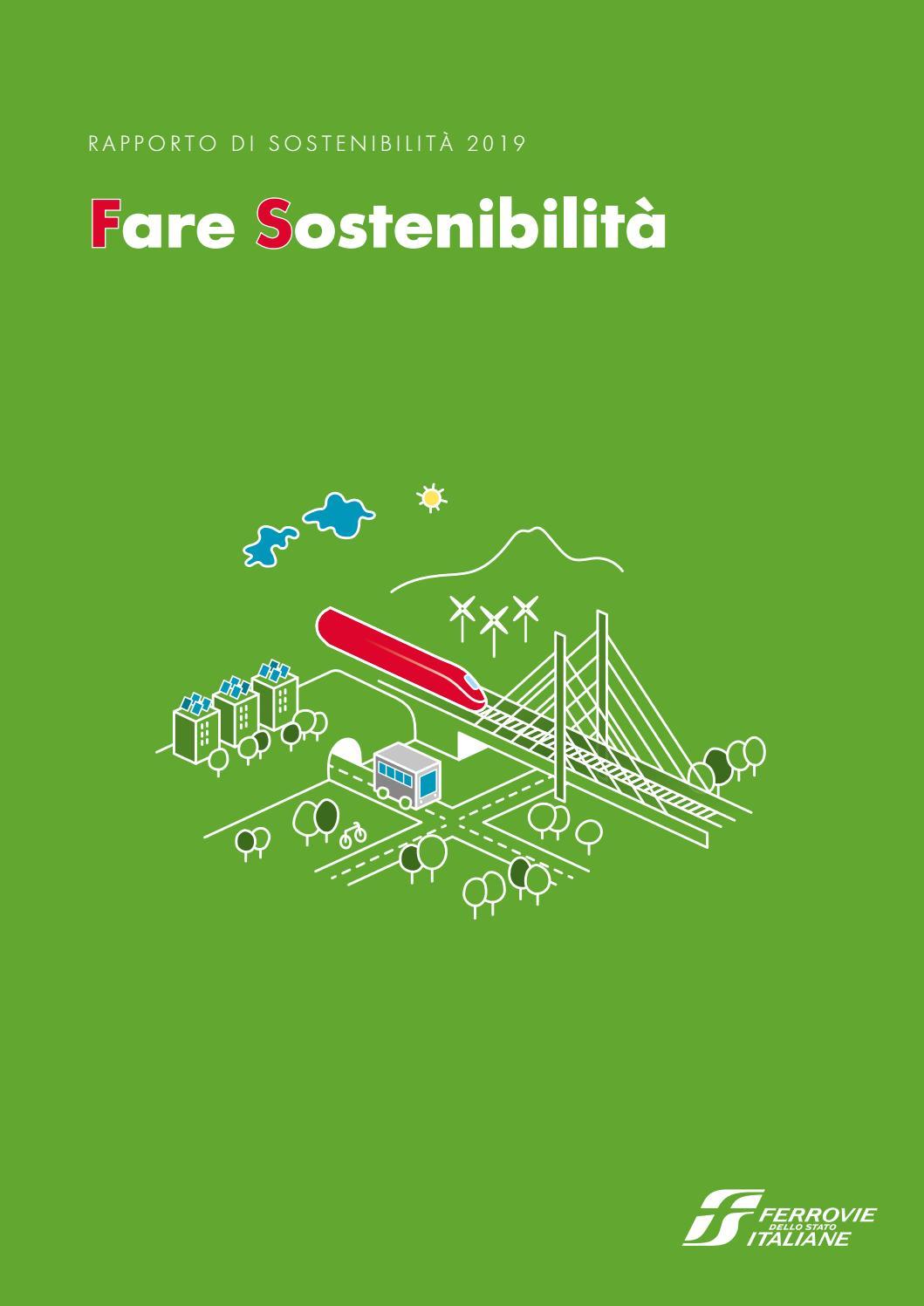 Rapporto Di Sostenibilita 2019 By Ferrovie Dello Stato Italiane Issuu