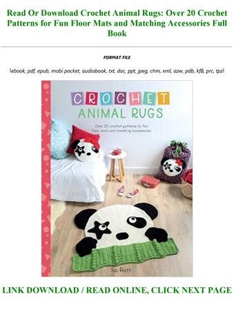 Crochet Animal Rugs Beautiful Patterns | The WHOot | 452x320