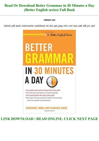 30 days to better english pdf free download