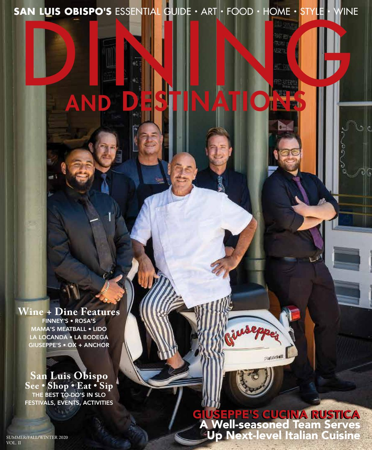 san luis obispo dining and destinations