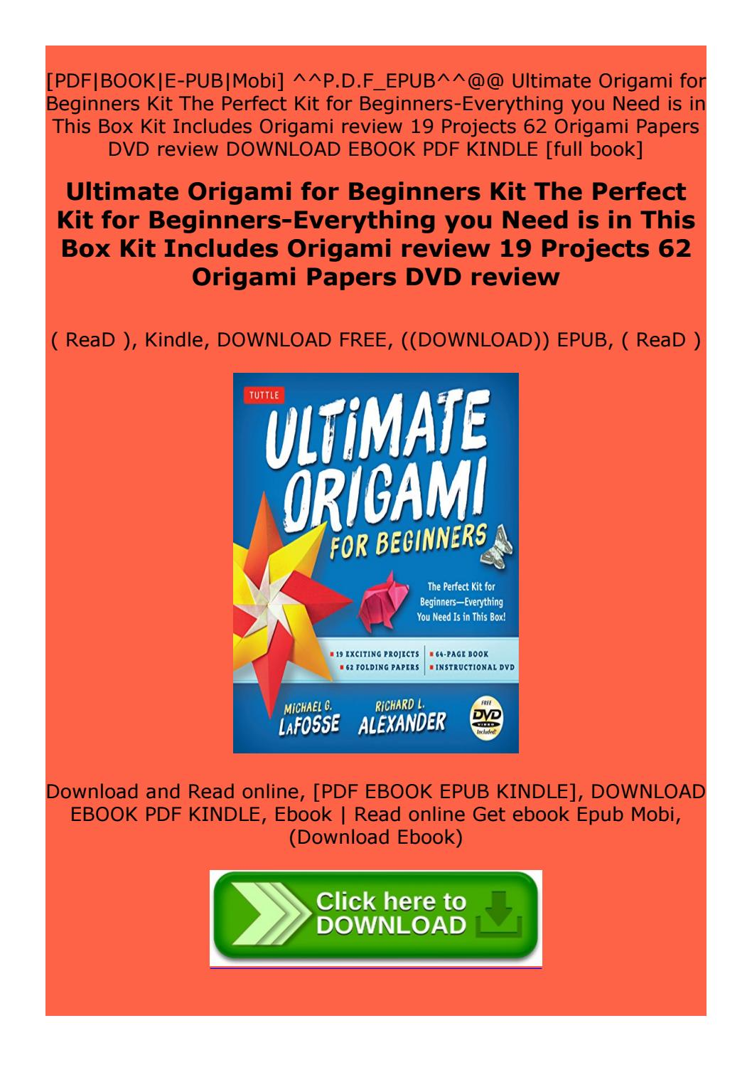 Papercraft Download PDF Ultimate Papercraft and Origami Book FULL ... | 1497x1058