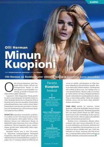 Page 17 of Minun Kuopioni: Olli Herman