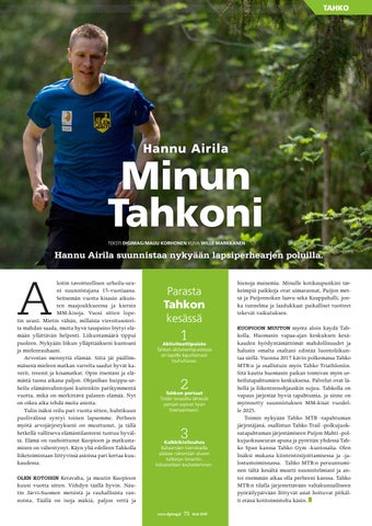 Page 73 of Minun Tahkoni: Hannu Airila