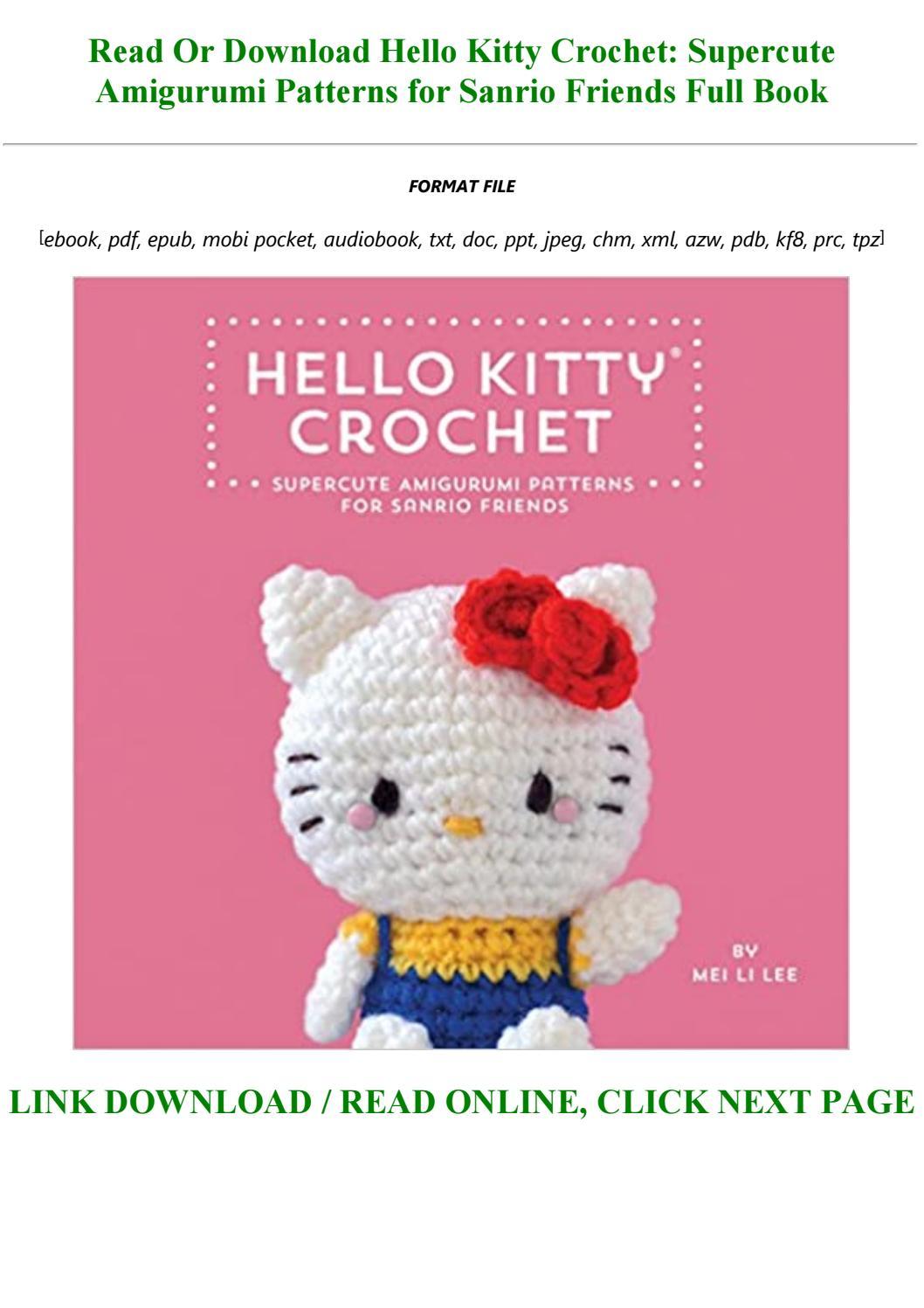 Free ebook download uk Sweet Crochet Friends: 16 - ussapubengiwh ... | 1497x1058