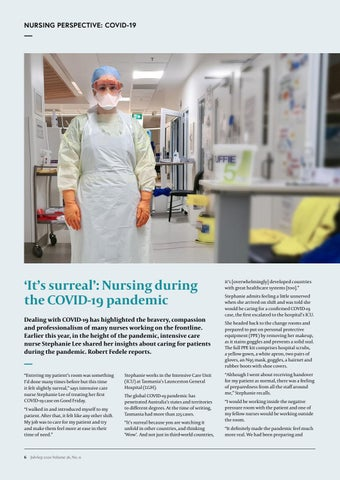 Page 8 of Nursing perspective: COVID-19