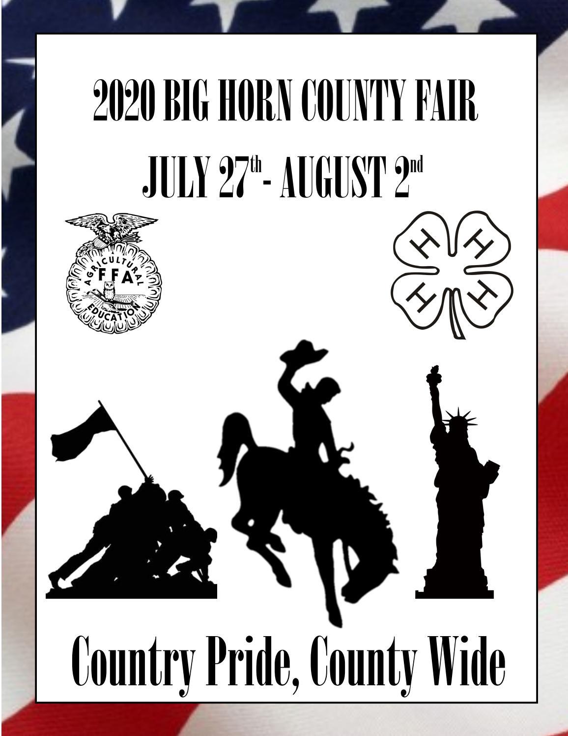Big Horn County Fair By Edje Issuu