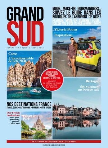Grand Sud magazine La Promenade Nice Airport Shopping