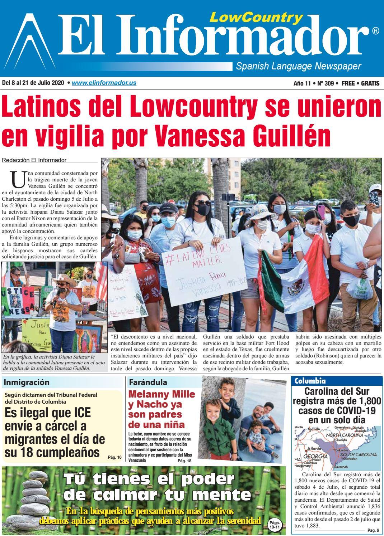 El Informador Newspaper: Edicion 8 de Julio, 2020 by El Informador Spanish  Language Newspaper - issuu