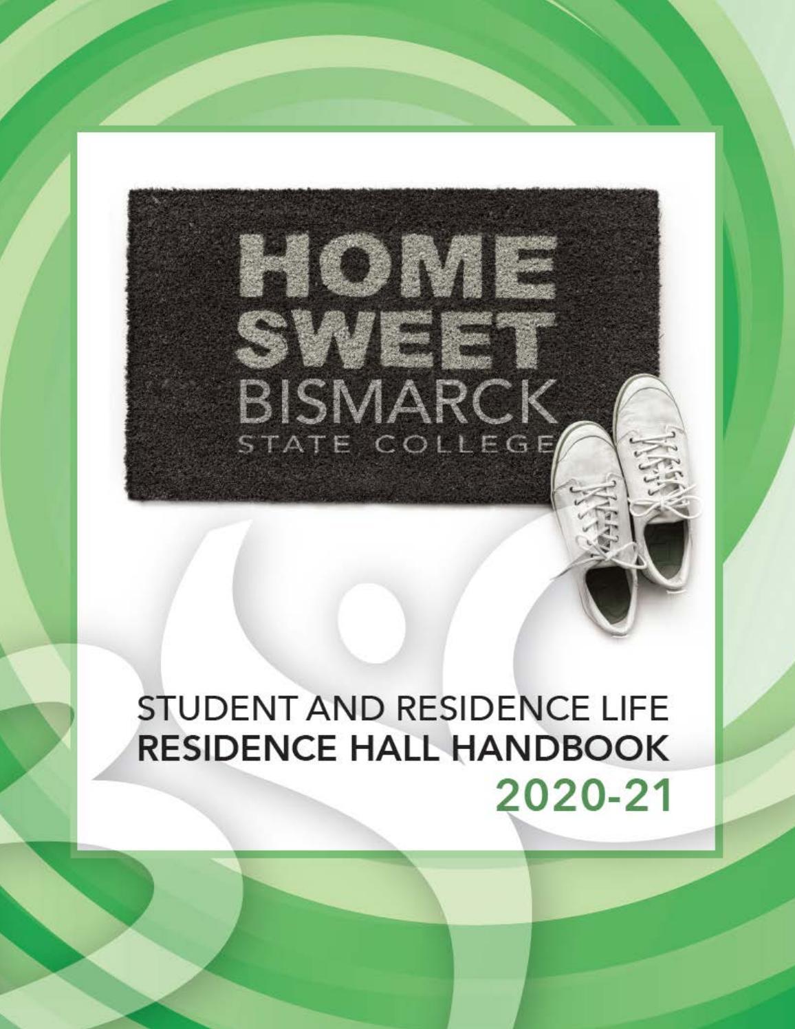 Bsc Residence Hall Handbook 2020 21 By Bismarck State College Issuu