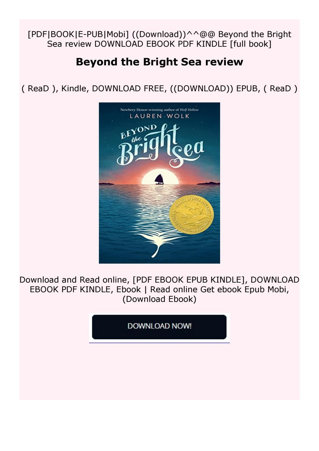 Read Online Beyond The Bright Sea Review By Cdxfcuuhhgxst Issuu