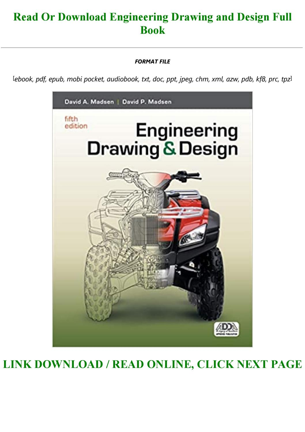 Pdf D O W N L O A D Engineering Drawing And Design Full By Sterling4545 Issuu