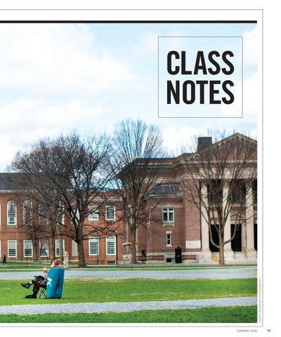 Tuck Class Notes Summer 2020 By Tuck School Of Business At Dartmouth Issuu