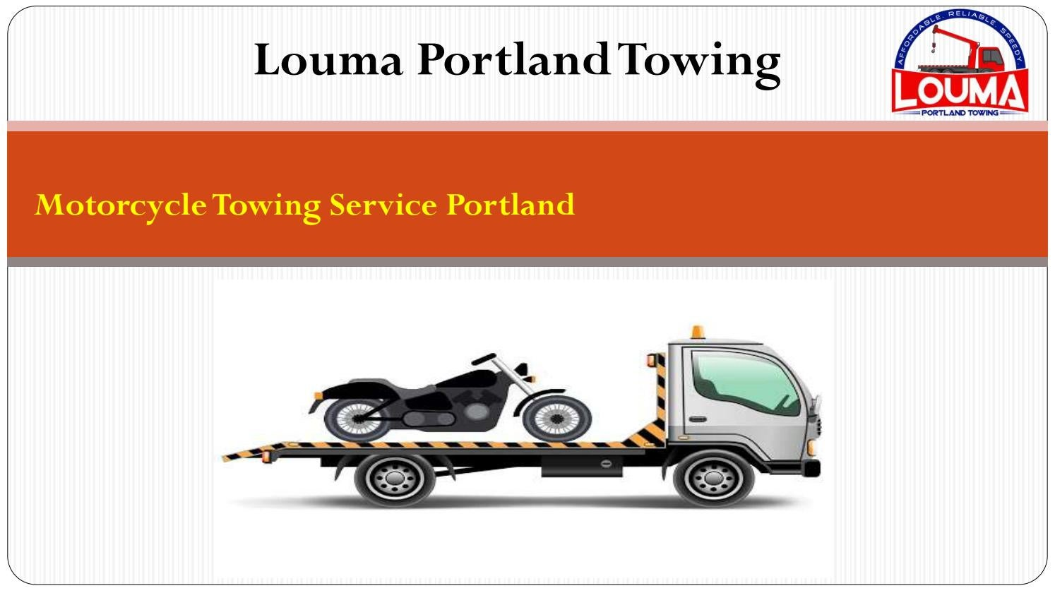 Get Best Towing Company In Portland By Louma Portland Towing Issuu