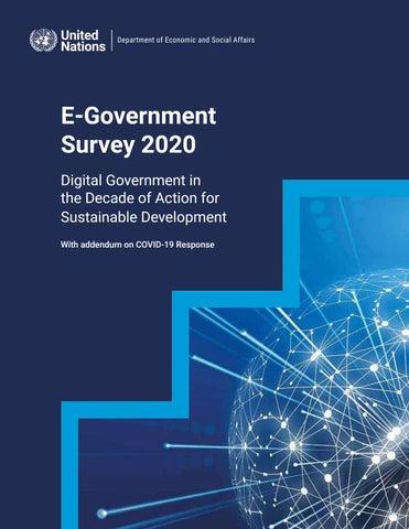 Encuestas de gobierno electrónico de la ONU