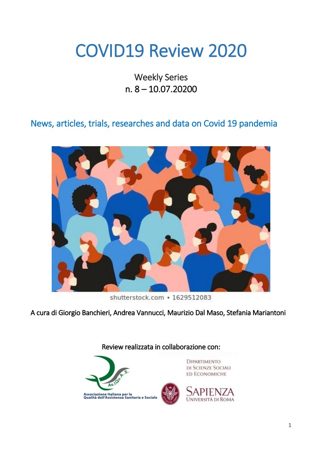 Weekly Series Covid19 Review 2020 By Com Publishing And Communication Issuu