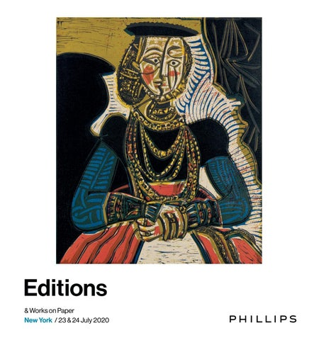 Editions Works On Paper Catalogue By Phillips Issuu