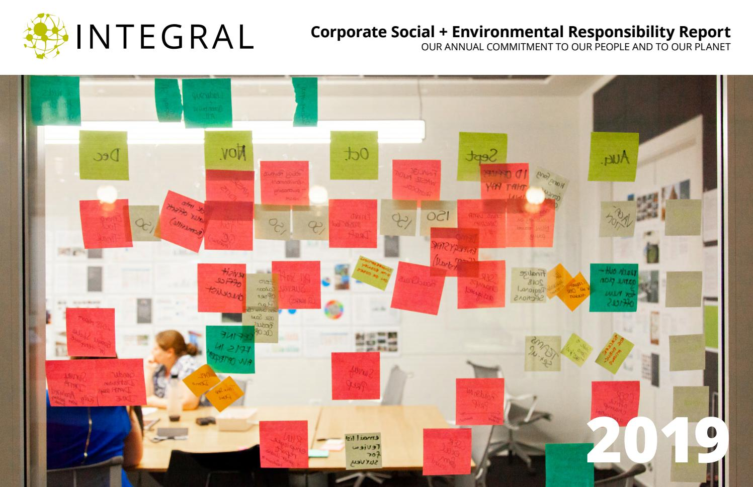 Integral Group 2019 Corporate Social Environmental Responsibility Report By Integral Group Issuu