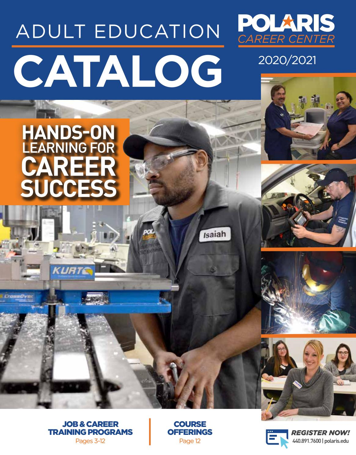 Fall 2020 Adult Education Catalog By Polaris Career Center Issuu