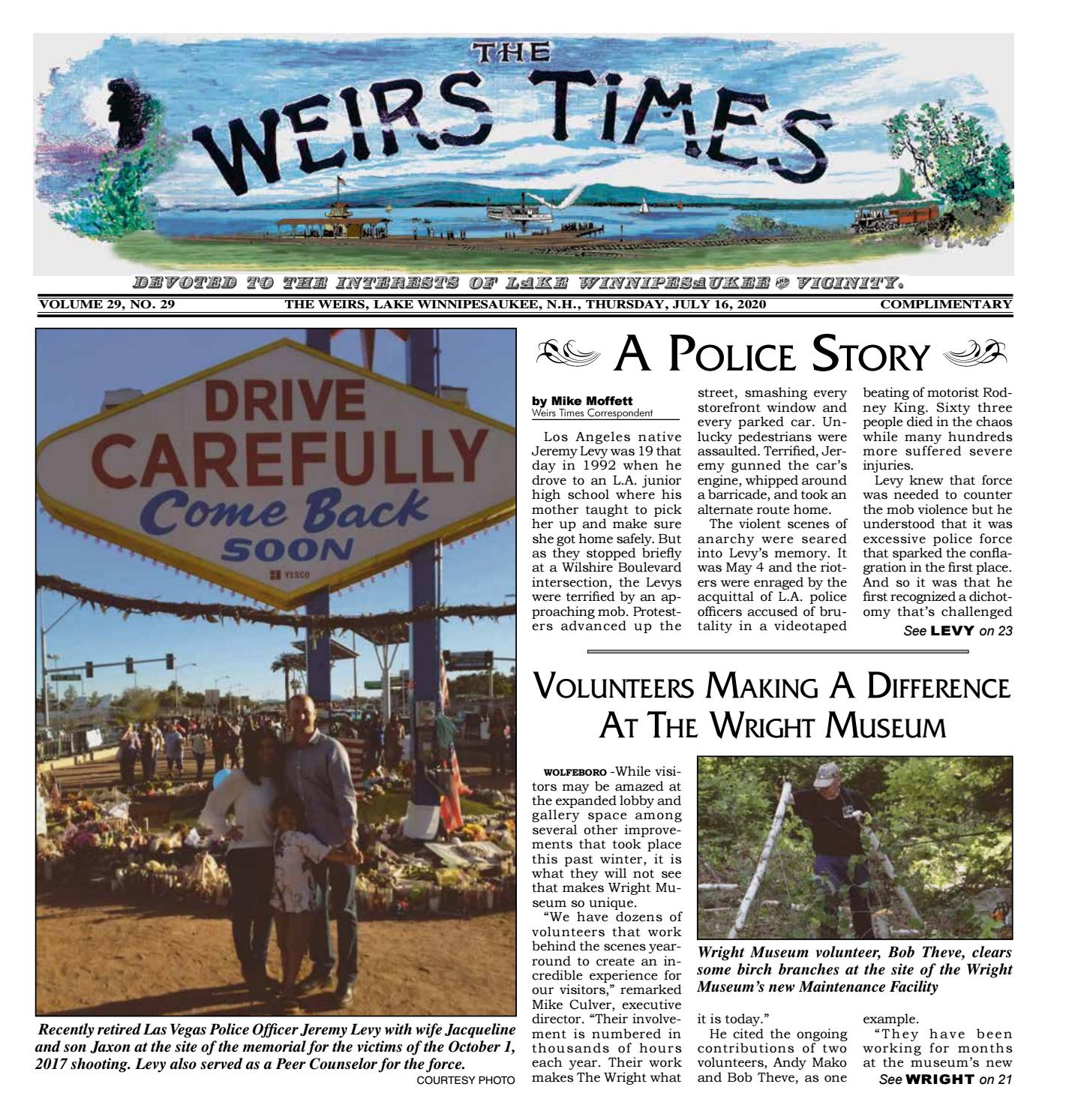 How The Toys Saved Christmas Airtime 2020 07/16/2020 Weirs Times by The Weirs Publishing Company   issuu
