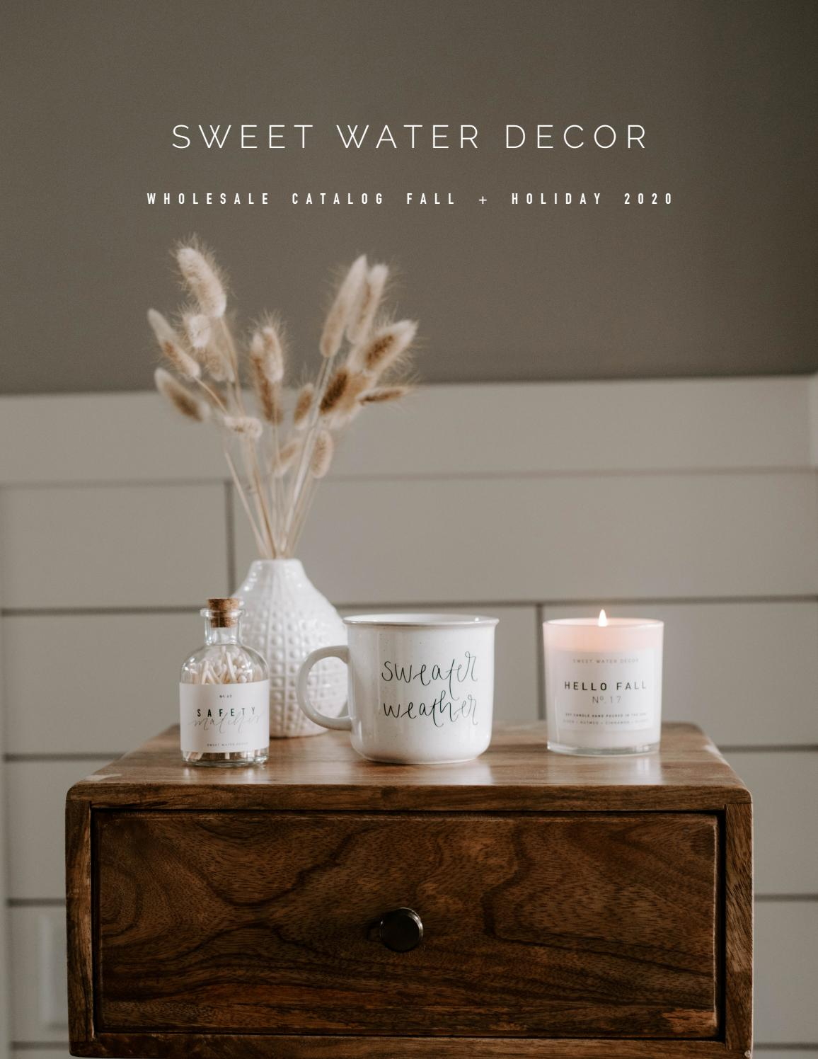 Sweet Water Decor Wholesale Catalog 2020 By Sweet Water Decor Issuu