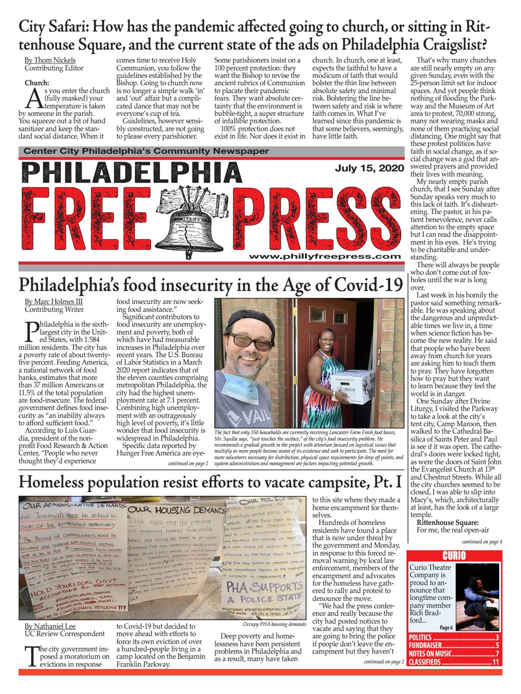 Philadelphia Free Press Digital Edition 07 15 20 By Robert Christian Issuu