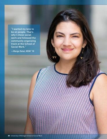 Page 22 of Alumni Profile: Margo Dalal