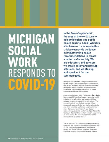 Page 28 of Michigan Social Work Responds to