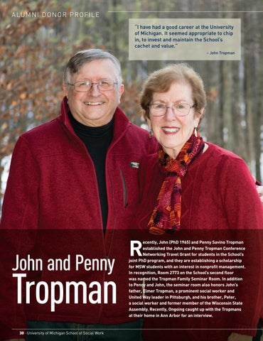 Page 32 of Donor Profile: John and Penny