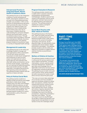 Page 9 of Curriculum Innovations Prepare MSW