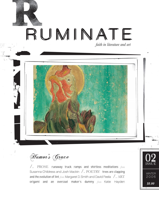 Issue 02 Humor S Grace By Ruminate Magazine Issuu