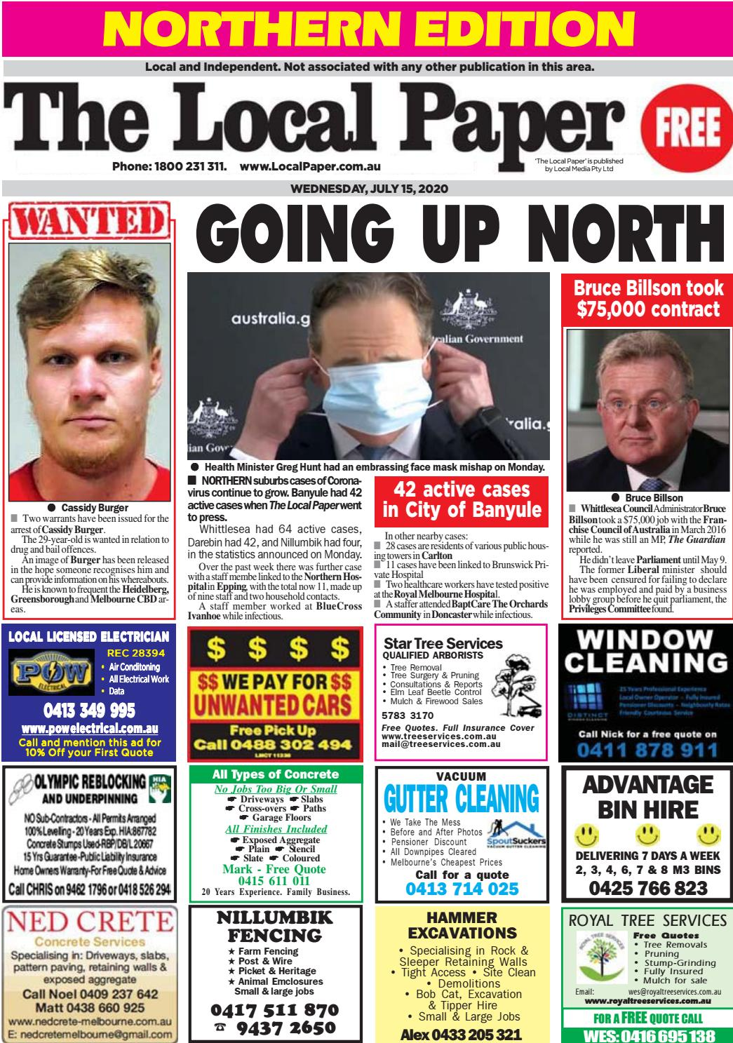 The Local Paper Northern Edition Wed Jul 15 2020 By Ash Long Issuu
