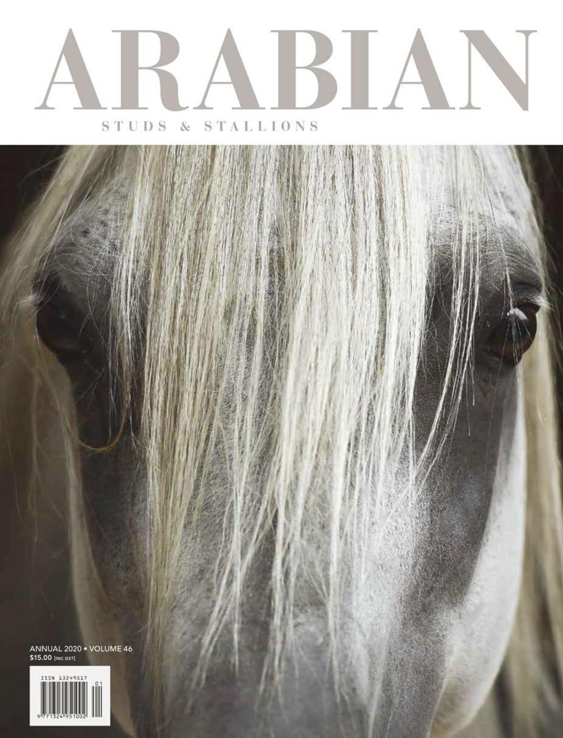 Arabian Studs Stallions Volume 46 Annual 2020 By Vink Publishing Issuu