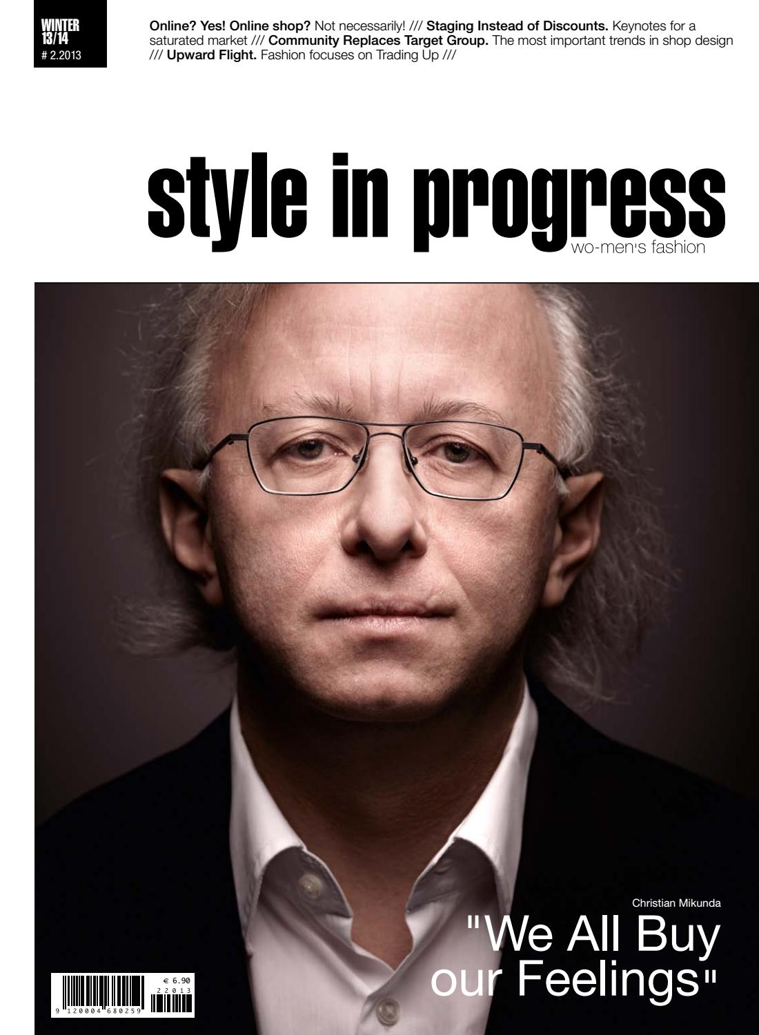 style in progress 20/20013 – English Edition by style in progress ...