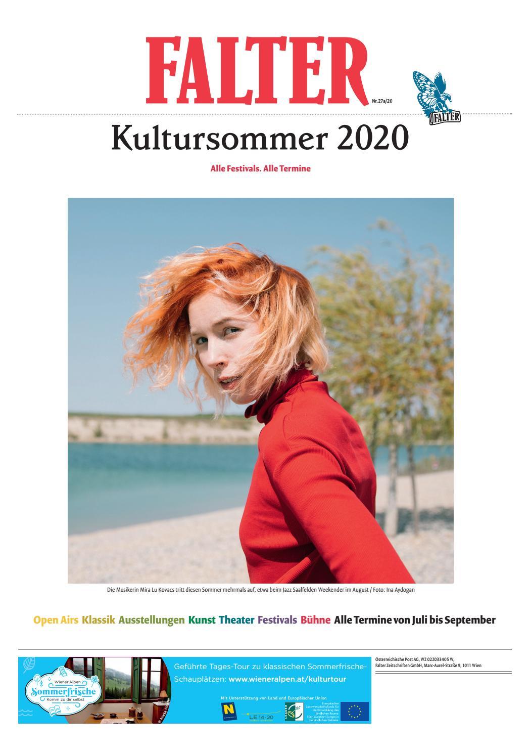 Kultursommer 8 by Falter Verlagsgesellschaft m.b.H.   issuu