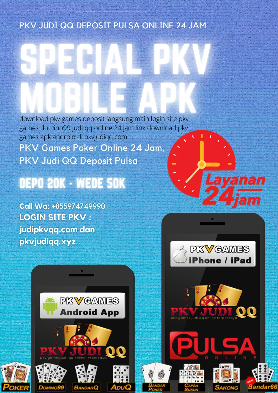 Pkv Judi Qq Deposit Pulsa Online 24 Jam Pkv Mobile Pkv Games Deposit By Pkv Judi Qq Pkv Mobile Pkv Games Deposit Issuu