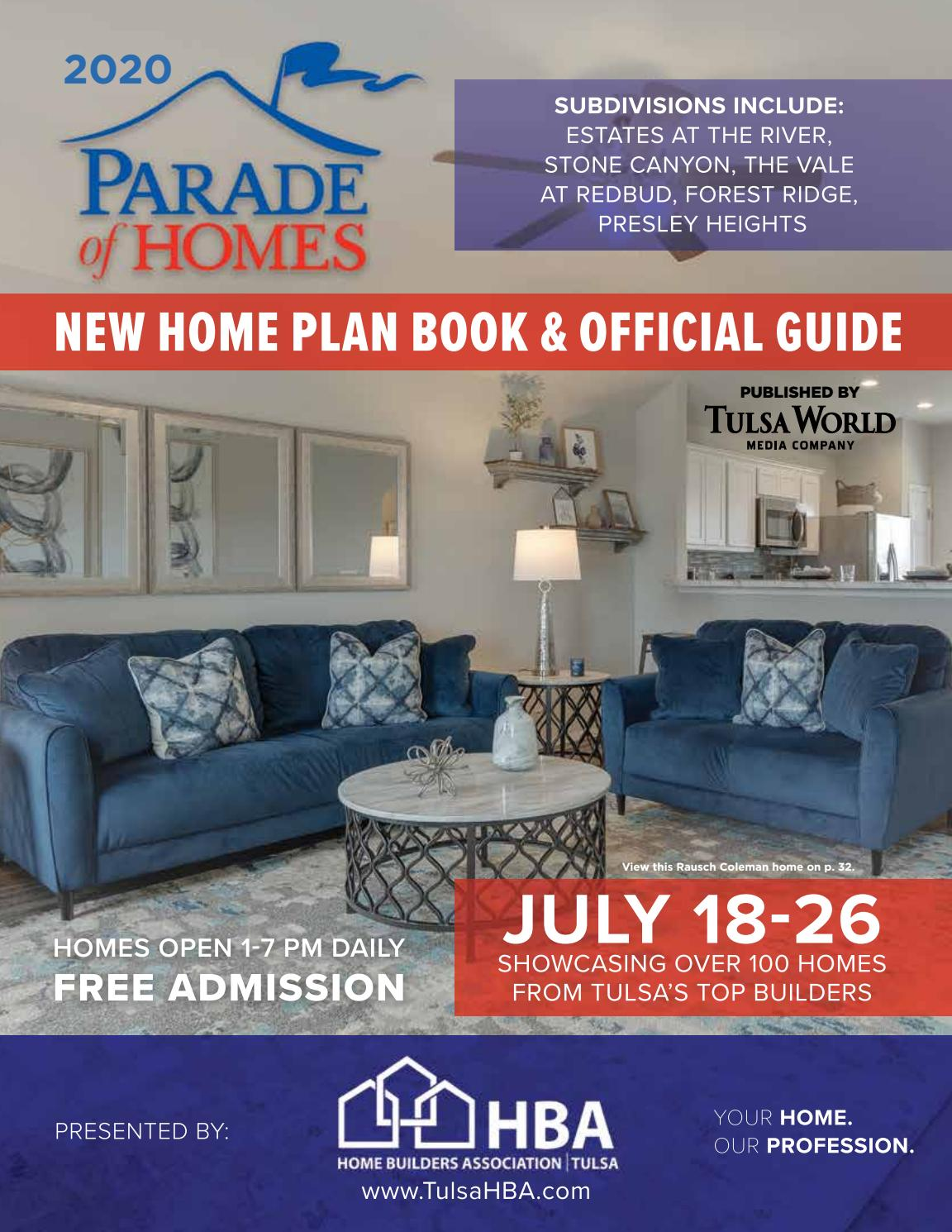 2020 Greater Tulsa Parade Of Homes By Tulsa World Issuu