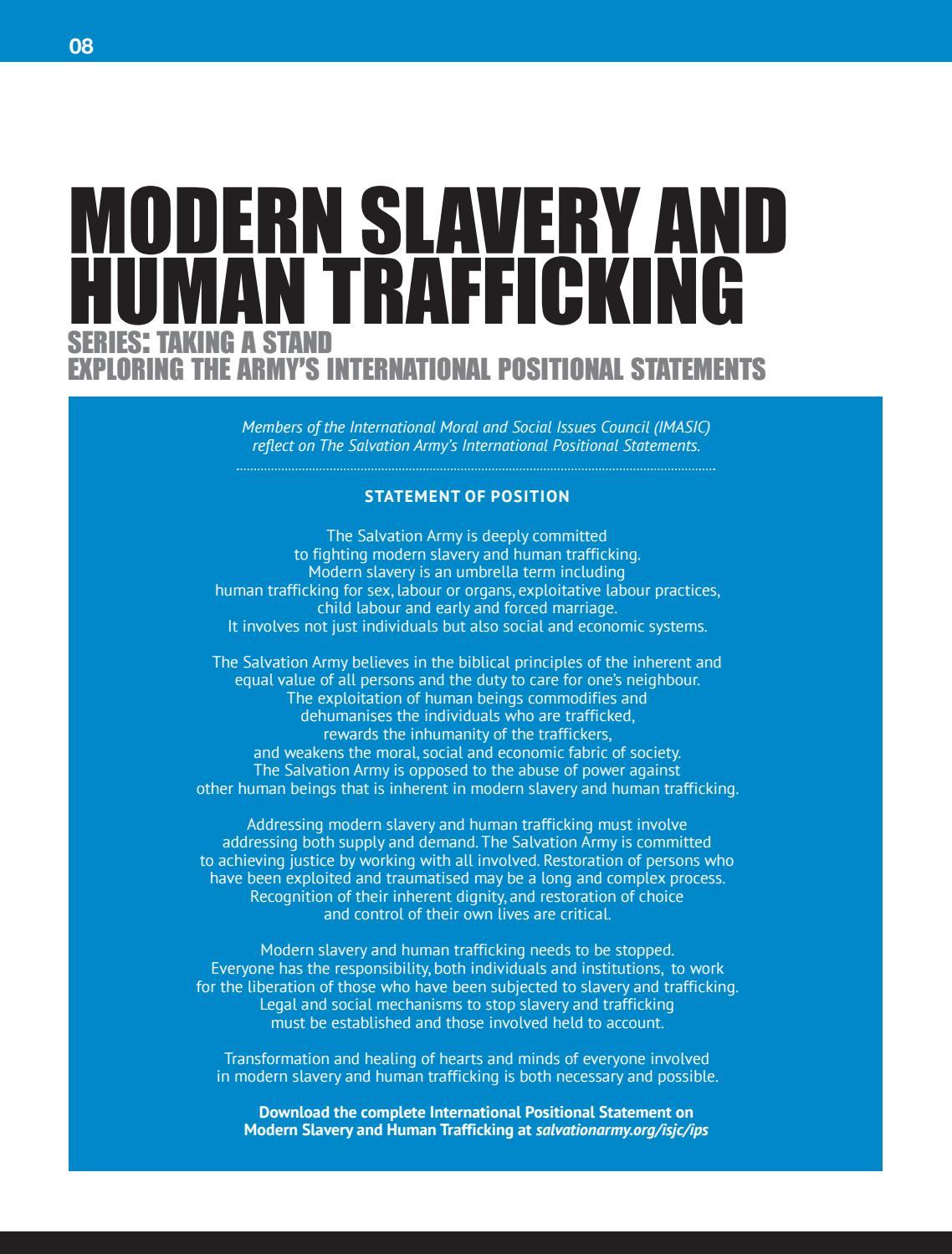 Human Trafficking Modern Day Slavery And Economic Exploitation
