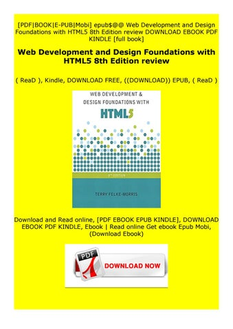 Read Online Web Development And Design Foundations With Html5 8th Edition Review By Zcrdxyfzrgs Issuu