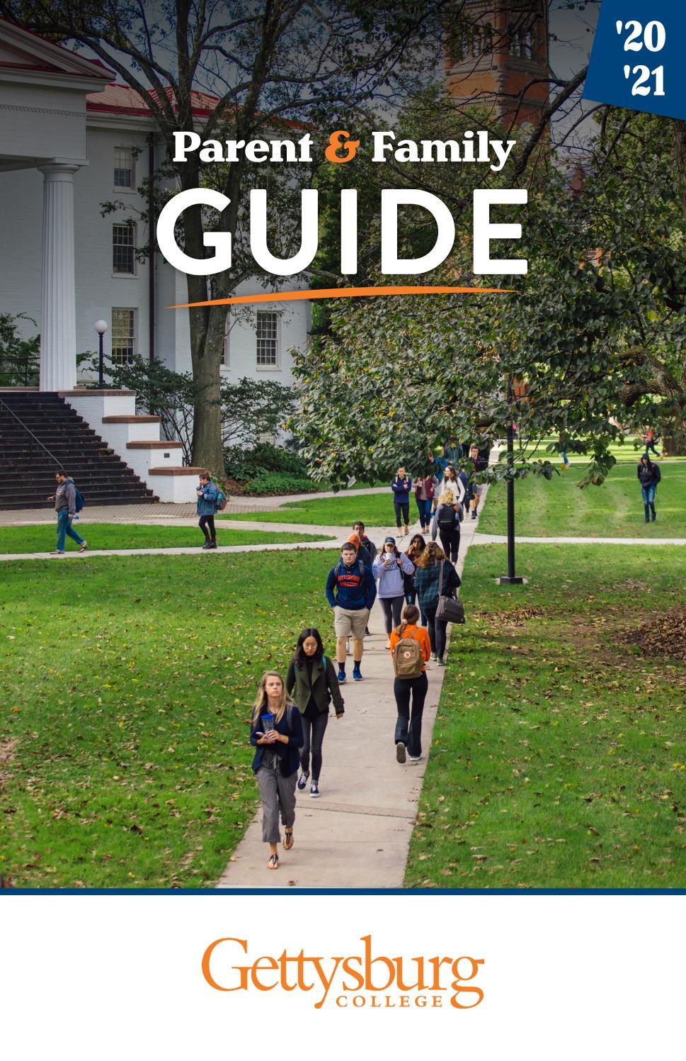 Gettysburg College Academic Calendar 2021-22 Gettysburg College Parent & Family guide by CollegiateParent   issuu