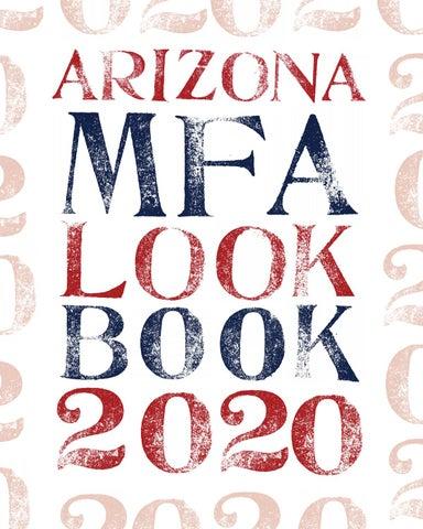 The Arizona Mfa 2020 Look Book By Arizona Mfa Issuu